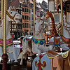 The carousel at Place Gutenberg
