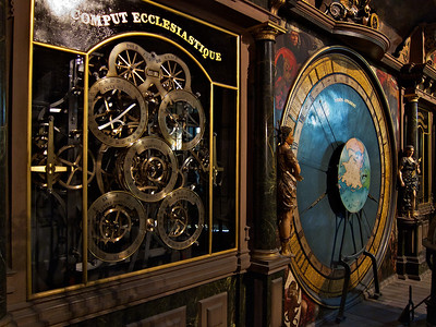 Some more bits of the astronomical clock. Apparently it performs at 12.30 each day but we missed that.