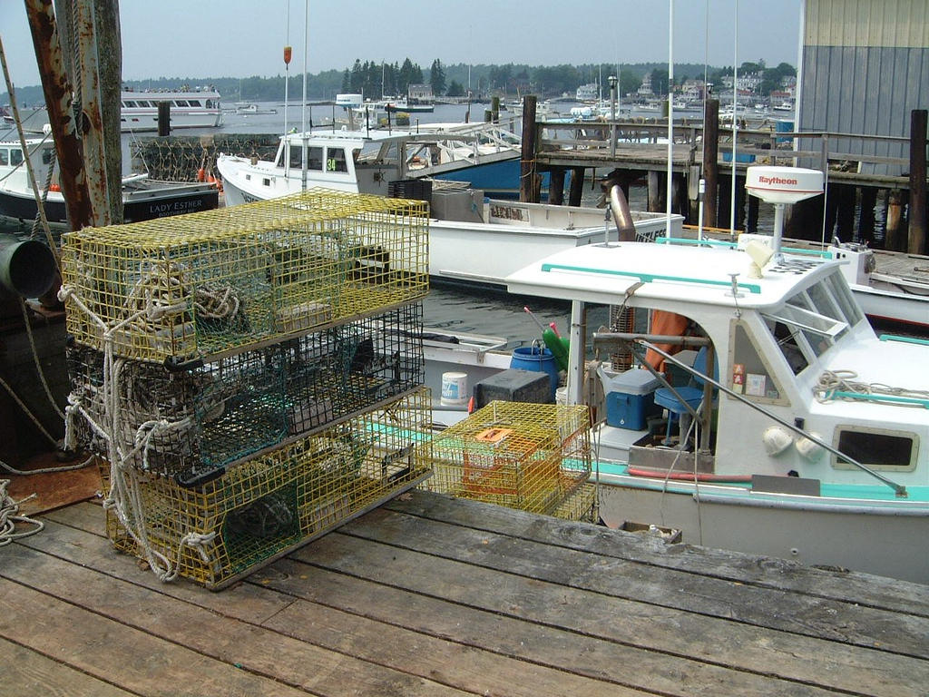 029 Lobster Cages