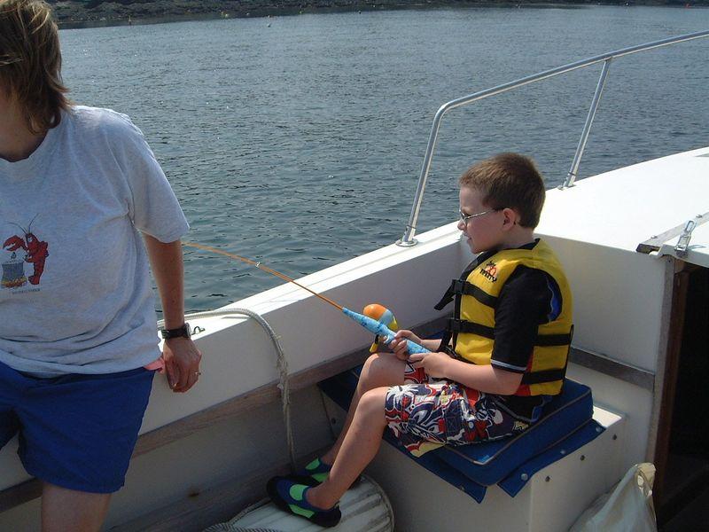 017 Liam Fishing