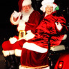 Debbie Blank | The Herald-Tribune<br /> Santa and Mrs. Claus arrived in Sunman on the back of a golf cart Friday, Dec. 1, during the fifth annual Sunman Celebrates the Season, sponsored by the Sunman Area Chamber of Commerce. This year the event had a later date, slightly different parade route and one extra hour of activities at Kenneth L. Diver American Legion Post 337.