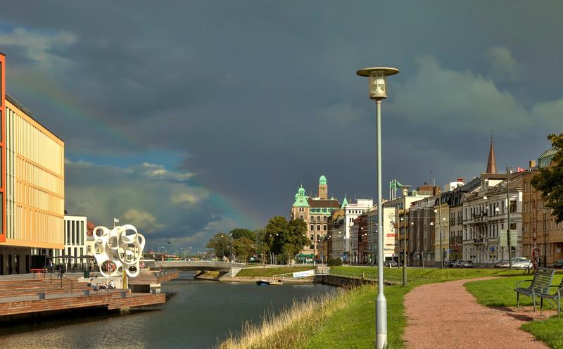 A hint of a rainbow, Malmö, Sweden
