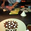 Wizardry in action.  Food was delicious...
