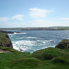 LOOKING BACK TOWARDS KILKEE FROM THE GOLF COURSE