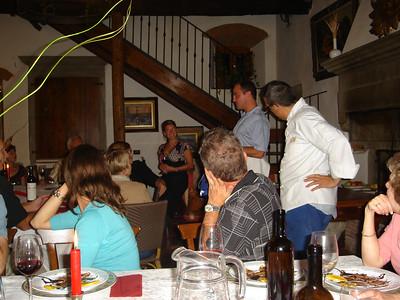 TUSCANY & UMBRIA 2006 - DINNER @ PARCO FIORITO
