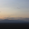 These are the old dormant volcanoes to the east of the park - Ngorogoro is behind the more obvious peak in the foreground.