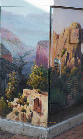 Painted cabinet on Mill 2848