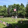 Tewksbury Memorial Day ceremony at Tewksbury Cemetery.  (SUN/Julia Malakie)