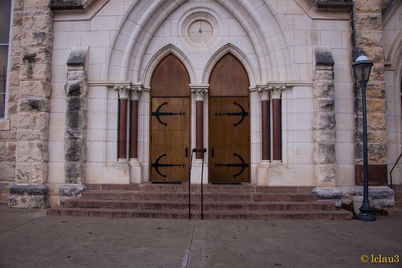Doors to new church