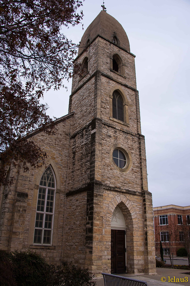 The old church established in 1846