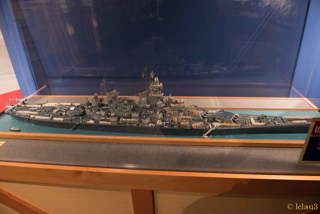 USS Missouri, at surrender, The War of the Pacific Museum,  Fredericksburg, TX
