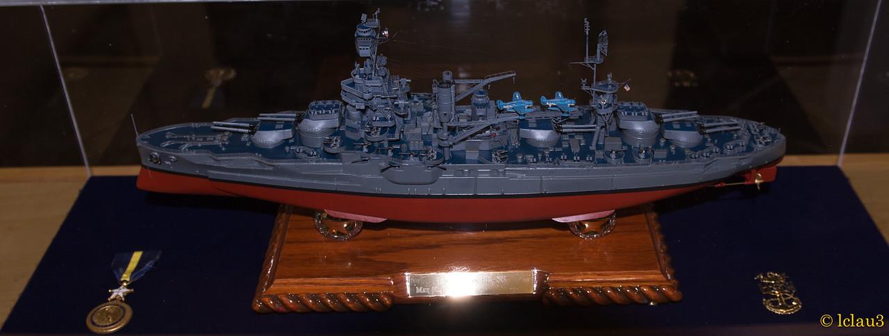 Battleship USS Texas, The War of the Pacific Museum,  Fredericksburg, TX