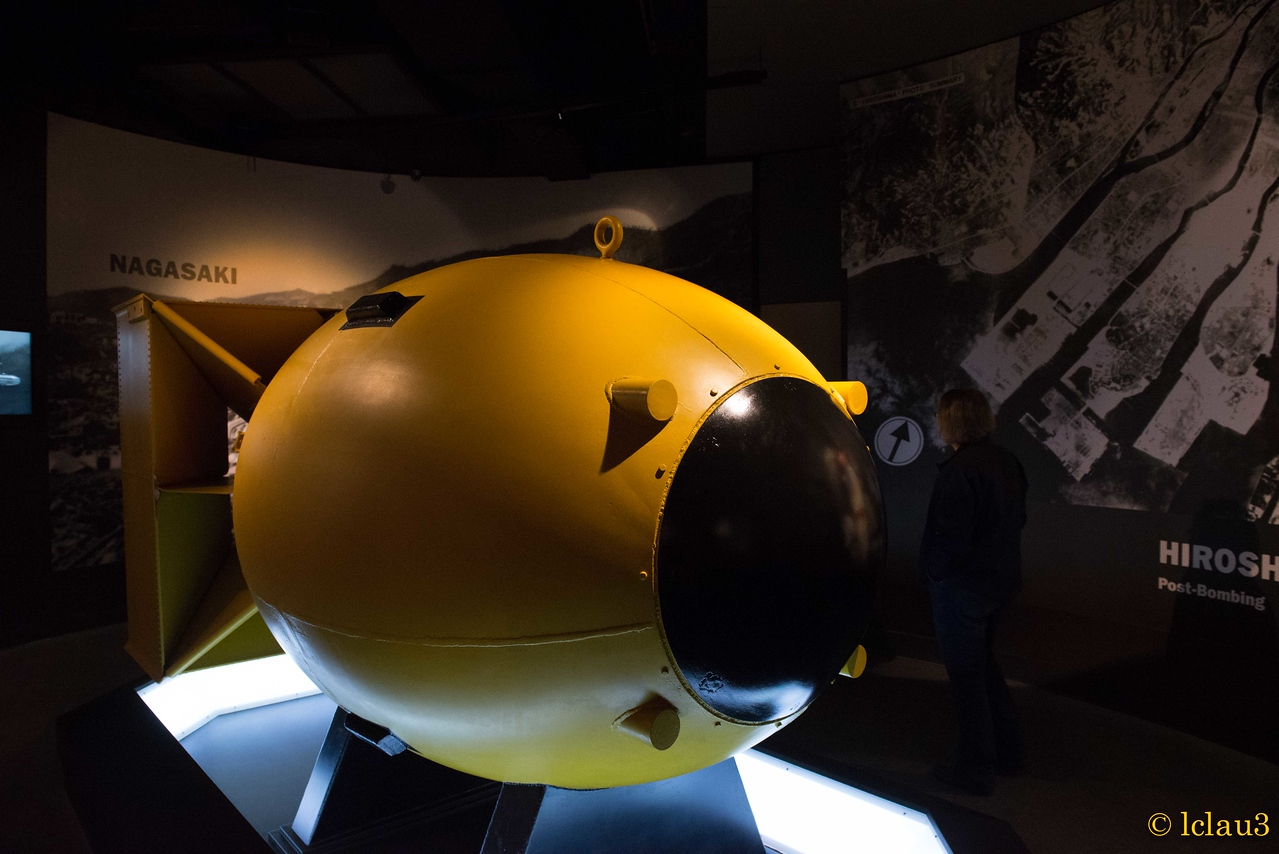 Fat Boy, the ultimate game changer, The War of the Pacific Museum,  Fredericksburg, TX