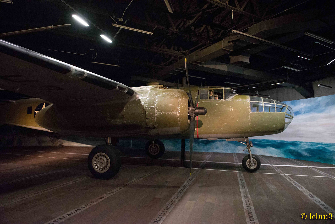 The War of the Pacific Museum,  Fredericksburg, TX.   Doolittle Raider