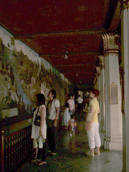 Hallways of the Grand Palace.