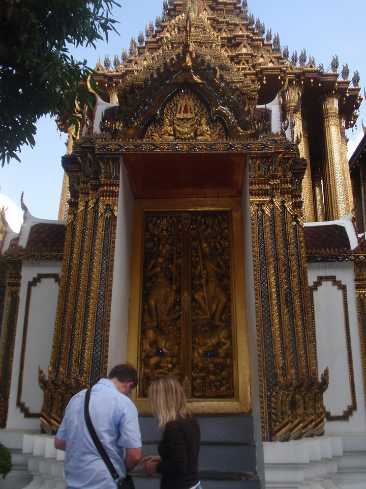 Great door into the Grand Palace.