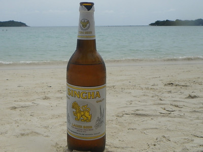 Beer by the beach