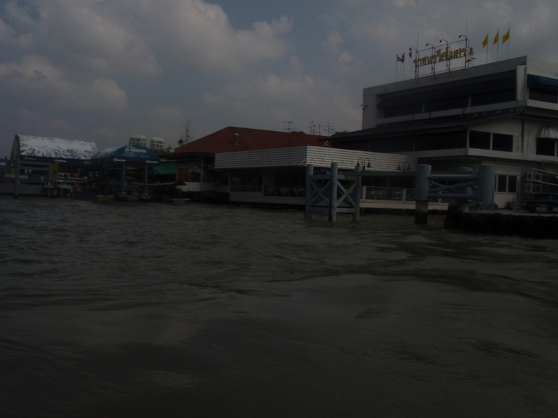 A look at the Grand Palace area dock.