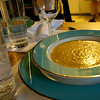 Soup course: Butternut Squash, of course