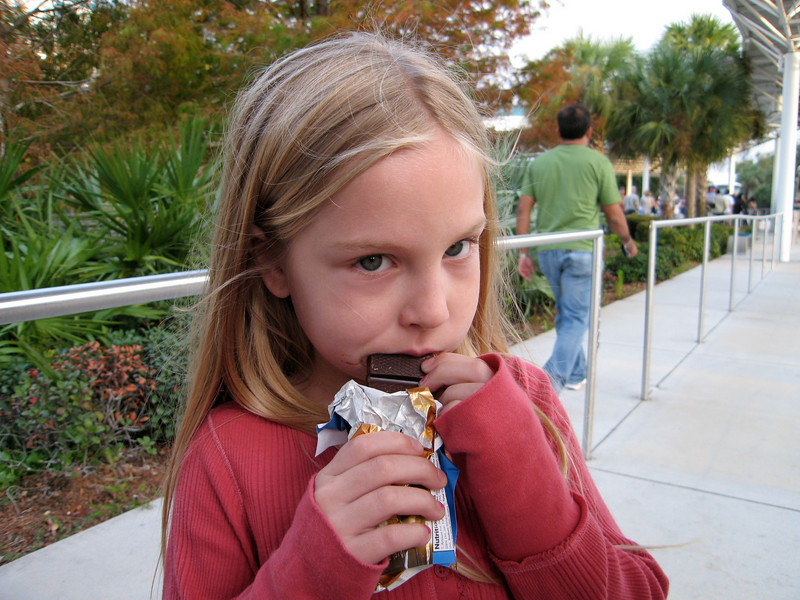 Thanksgivng, NASA - Kennedy Space Center (Seriously always eating)