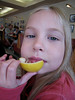 Thanksgivng, NASA - Kennedy Space Center, Eating a Lemon with Salt