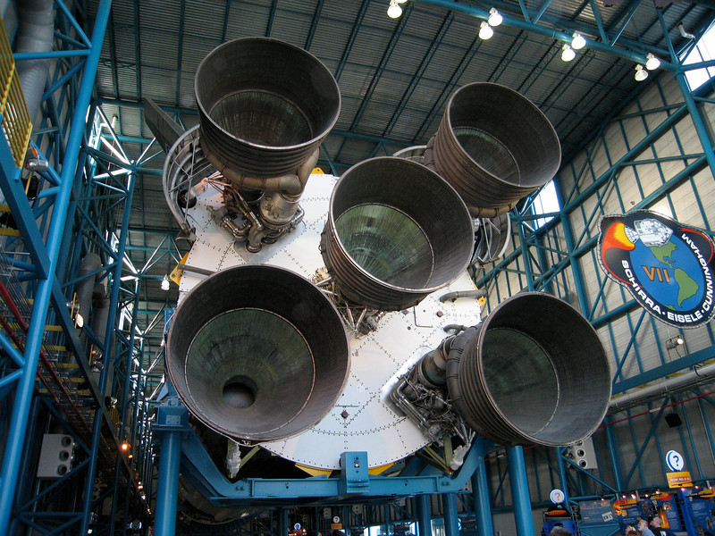 Thanksgivng, NASA - Kennedy Space Center, Saturn V