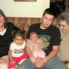 Four Generations <br /> Vicki, Nessa, Kealey, Nathan, and Nanna