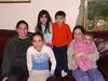 The six cousins on the Gartenberg side: Danielle, Alison, Josh, Elana, Erica & Shoshana