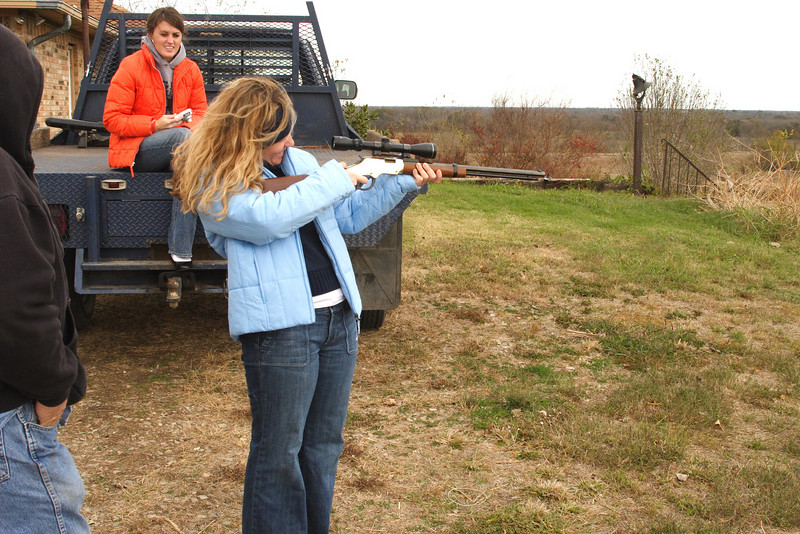 Janine and the .22