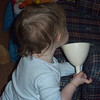 This funnel is one of her favorite things.