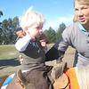 Coopers First horseback ride