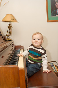 Colin Playing Piano