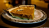 Dessert Pumpkin Pie of course (homemade) and to top it off with a hot cup of Pumpkin Spice Coffee from Green Mountain....yum...