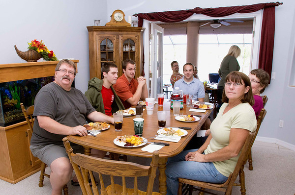 Thanksgiving 2011 The Eberle's and The Cherepon's