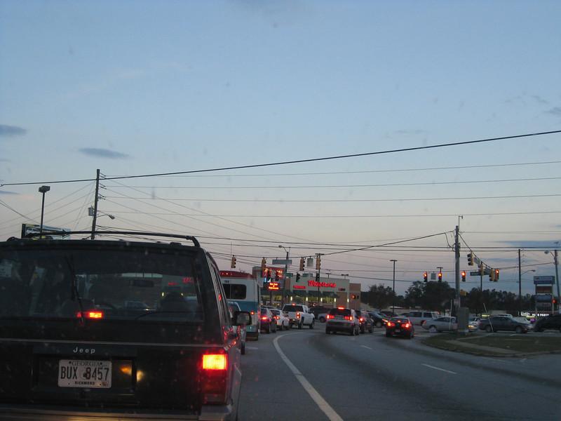 Heading back to Atlanta, 11/22/2011