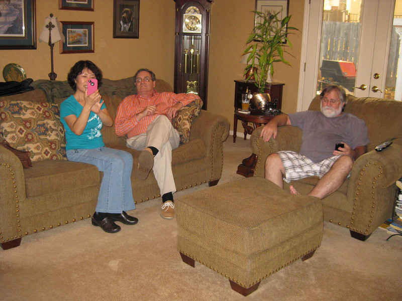 Michelle, Michael, and Reid. Thanksgiving in Augusta, 11/22/2011