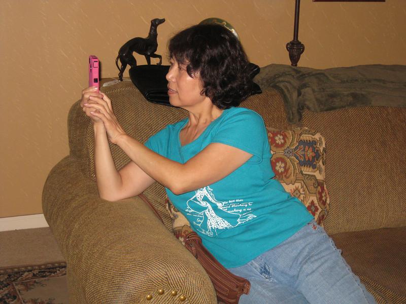 Michelle. Thanksgiving in Augusta, 11/22/2011