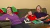 Nora and her two Grandmas: Anala and Linda
