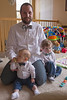 Bow-ties all: Hayden, Jonathan, and Jackson