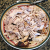 The turkey is ready!!!  It was really good and very moist!  The brine was a success and definitely worth all the trouble!