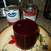 Rob prepares the Cranberry Sauce....