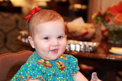 Quinn on Thanksgiving 2013.