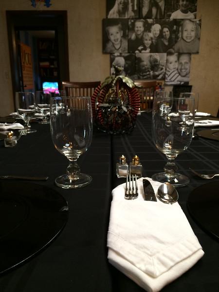 Thanksgiving spread (11.27.14)
