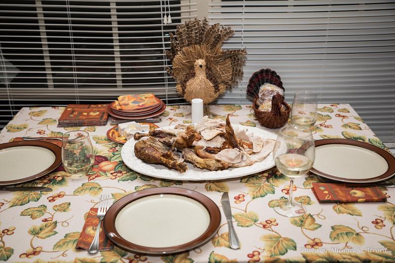 The turkey feast.