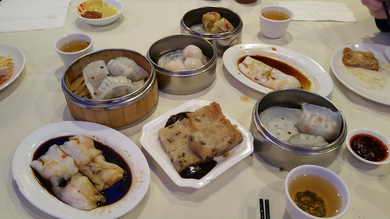 "Dim Sum at China Star in Lowell for lunch on 11/24 - a new ""tradition"".  ;-)"