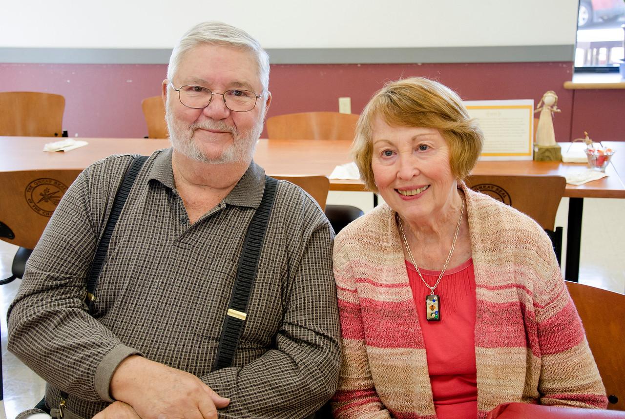 Reece and Sally Crabtree at Crowder