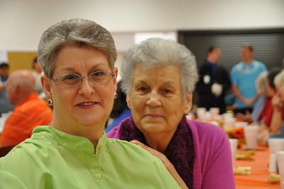 Jackie Fry and Mary Jo Adams of Shady Point, OK