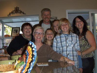 Thanksgiving Dinner at Dana's 11-22-07