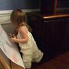 Kayleigh teaching Nate.