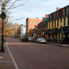 An empty Annapolis on a beautiful Thanksgiving day.